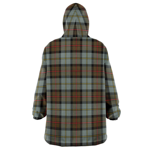 MacLeod of Harris Weathered Snug Hoodie - Unisex Tartan Plaid Back