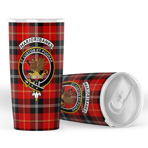 Marjoribanks Tartan - Insulated Tumbler - BN