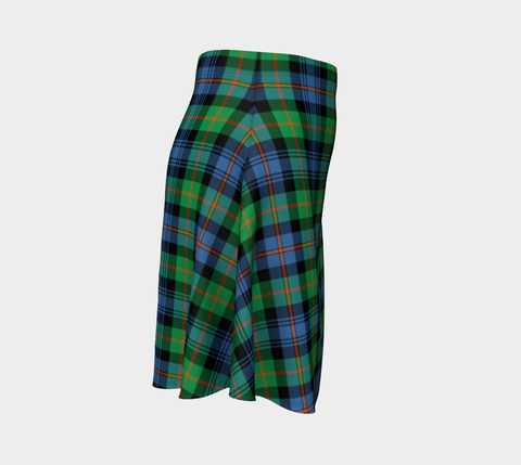 Tartan Skirt - Murray Of Atholl Ancient Women Flared Skirt A9 |Clothing| 1sttheworld
