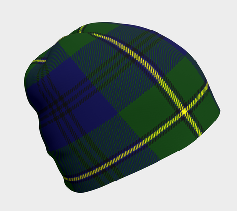 JOHNSTON MODERN TARTAN BEANIE