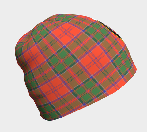 Image of Grant Ancient Tartan Clan Crest Beanie