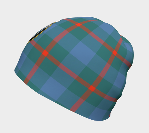 Image of Agnew Ancient Tartan Clan Crest Beanie Hj4