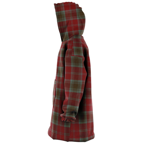 Lindsay Weathered Snug Hoodie - Unisex Tartan Plaid Left
