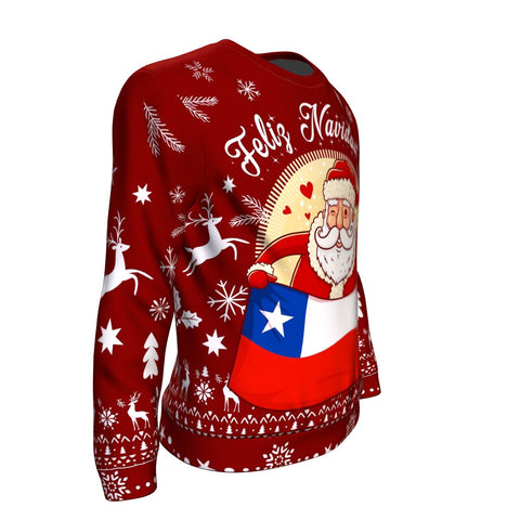 Image of Chile Sweatshirt Chritstmas A5