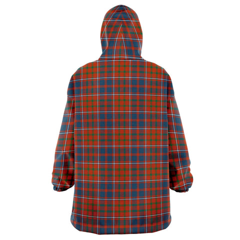 Cameron of Lochiel Ancient Snug Hoodie - Unisex Tartan Plaid Back