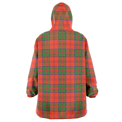Image of Grant Ancient Snug Hoodie - Unisex Tartan Plaid Back