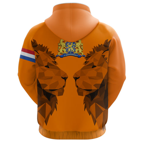Netherlands Zip-Up Hoodie - Double Lion K2