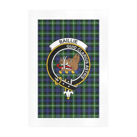 Image of Baillie Clan Tartan Art Print F1 One Size / 19í_í‡X28í_í‡ Prints