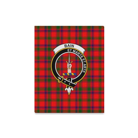 Tartan Canvas Print - Baillie Clan | Over 300 Scottish Clans and 500 Tartans