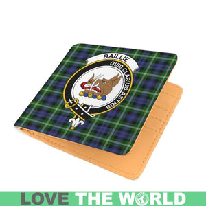 BAILLIE CLAN TARTAN MEN WALLET A3