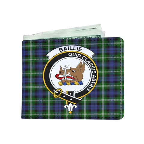 Baillie Clan Tartan Men Wallet Y3 Wallets
