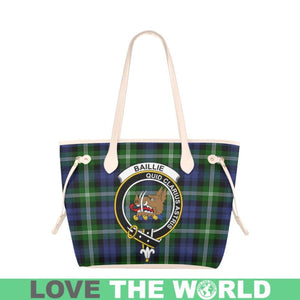 Baillie Modern Tartan Handbag - Tartan Clan Badge Large Leather Tote Bag Nn5