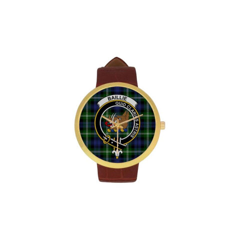 Baillie Modern Clan Badge Tartan Watch