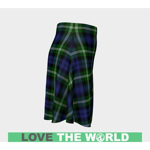 Tartan Skirt - Baillie Modern Women Flared Skirt A9 |Clothing| 1sttheworld