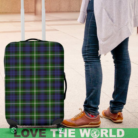 Baillie Modern Tartan Luggage Cover Hj4 Covers