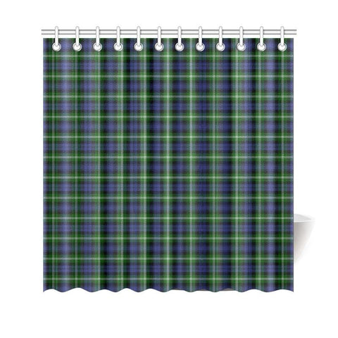 Image of Tartan Shower Curtain - Baillie Modern | Bathroom Products | Over 500 Tartans