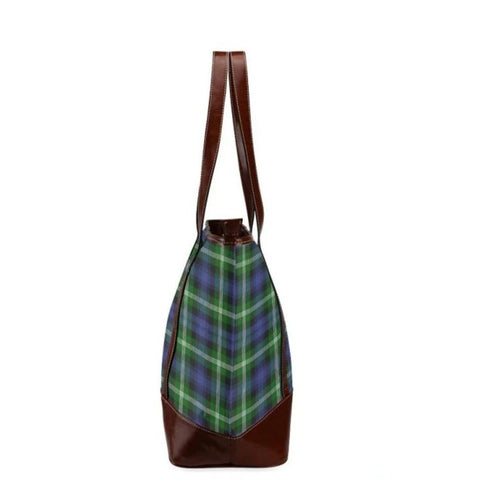 Baillie Tartan Clan Badge Tote Handbag Hj4 Handbags