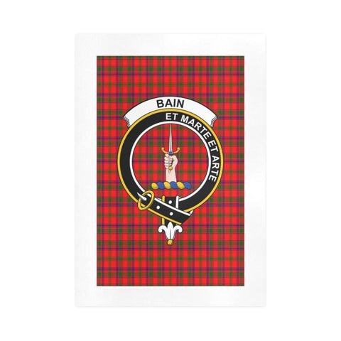 Image of Bain Clan Tartan Art Print F1 One Size / 16í_í‡X23í_í‡ Prints