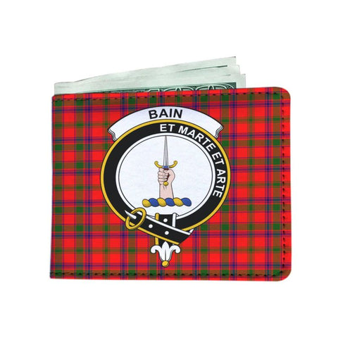 Bain Clan Tartan Men Wallet Y3 Wallets