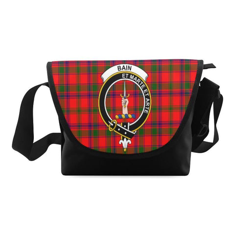 Image of BAIN TARTAN CLAN BADGE CROSSBODY BAG NN5
