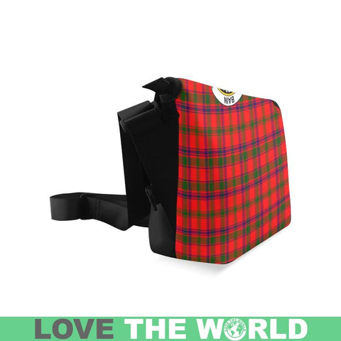 Bain Tartan Clan Badge Crossbody Bag C20 Bags