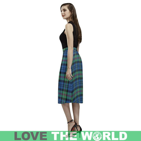 Image of Baird Ancient Tartan Aoede Crepe Skirt S12 Skirts