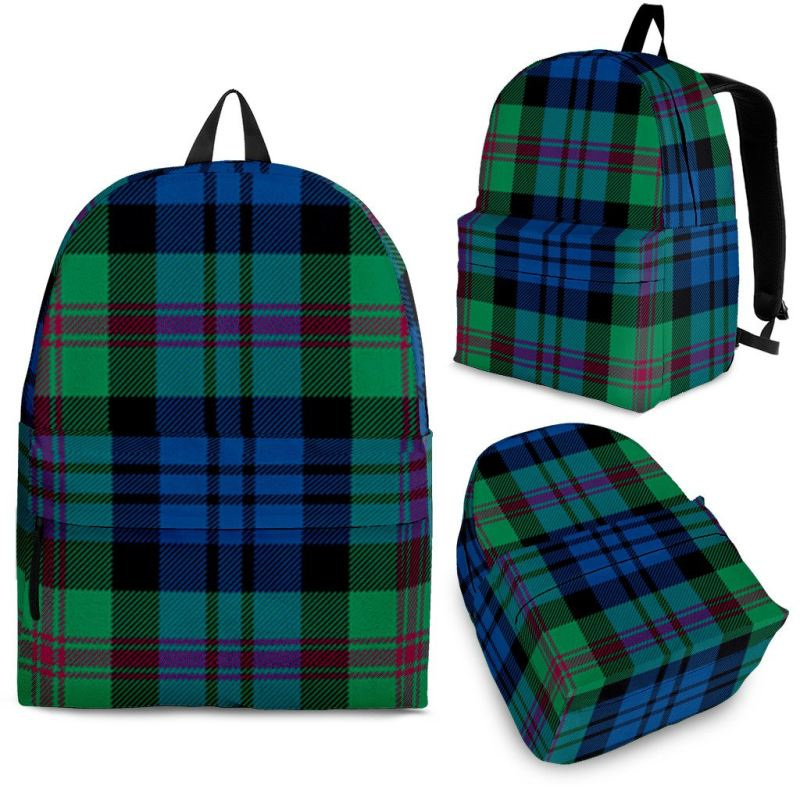 Baird Ancient Tartan Backpack Backpacks