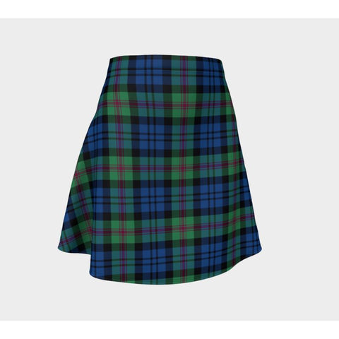 Tartan Skirt - Baird Ancient Women Flared Skirt A9 |Clothing| 1sttheworld