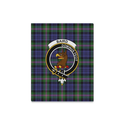 Image of Tartan Canvas Print - Baird Clan | Over 300 Scottish Clans and 500 Tartans