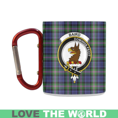 Image of Tartan Mug - Clan Baird Tartan Insulated Mug A9 | Love The World