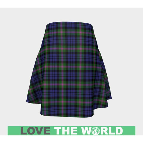 Tartan Skirt - Baird Modern Women Flared Skirt A9 |Clothing| 1sttheworld