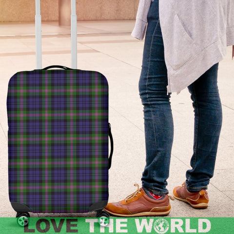 Image of Baird Modern Tartan Luggage Cover Hj4 Covers