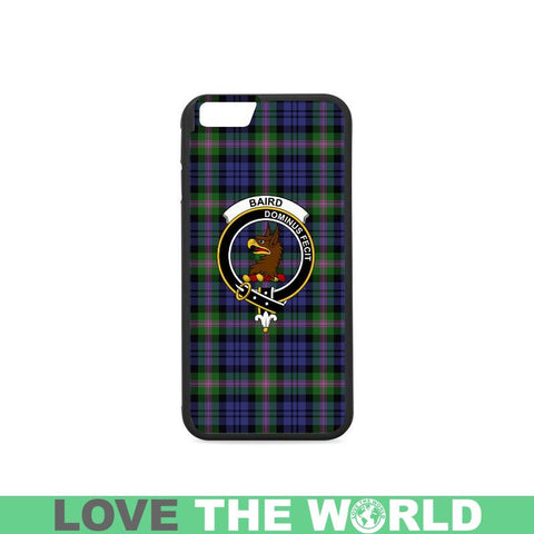 Baird Tartan Clan Badge Rubber Phone Case Hj4 One Size / Rubber Case For Iphone 7 Plus (5.5 Inch)