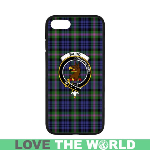 Image of Baird Tartan Clan Badge Rubber Phone Case Hj4 One Size / Rubber Case For Iphone 7 Plus (5.5 Inch)