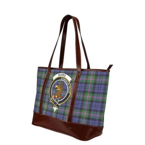 Baird Tartan Clan Badge Tote Handbag Hj4 Handbags