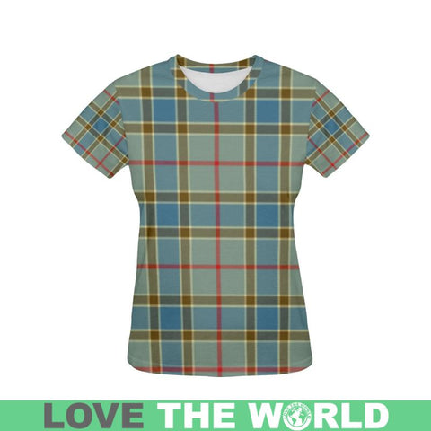 Image of Tartan T-shirt - Balfour Blue| Tartan Clothing | Over 500 Tartans and 300 Clans