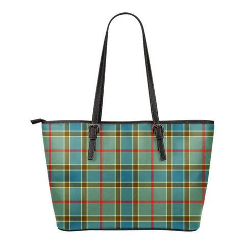 Balfour Blue  Tartan Handbag - Tartan Small Leather Tote Bag Nn5 |Bags| Love The World