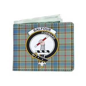 Balfour Clan Tartan Men Wallet Y3 Wallets