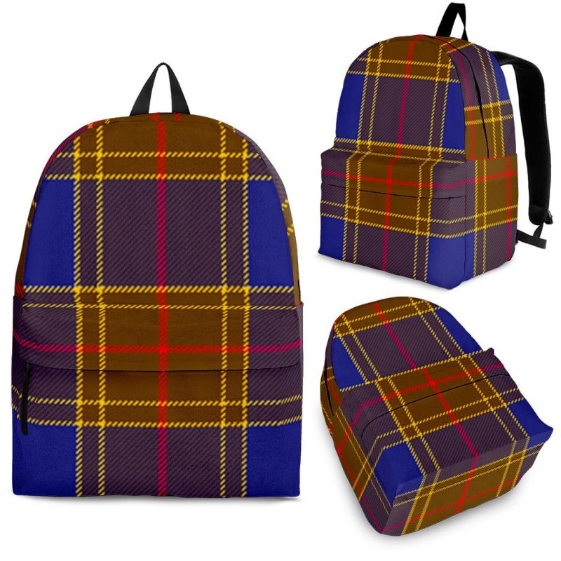 Balfour Modern Tartan Backpack Backpacks