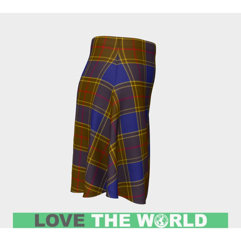Tartan Skirt - Balfour Modern Women Flared Skirt A9 |Clothing| 1sttheworld