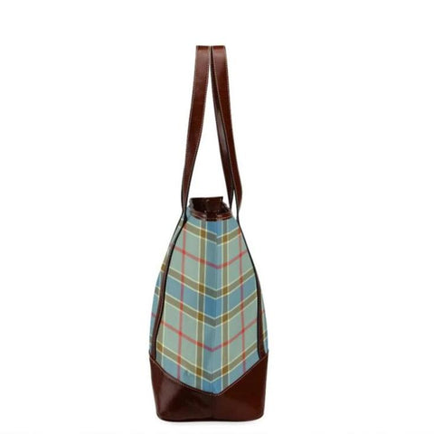 Balfour Tartan Clan Badge Tote Handbag Hj4 Handbags
