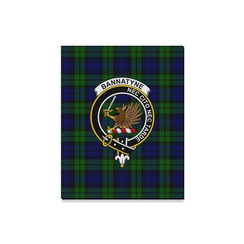 Tartan Canvas Print - Bannatyne Clan | Over 300 Scottish Clans and 500 Tartans
