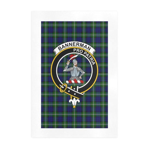 Image of Bannerman Clan Tartan Art Print F1 One Size / 19í_í‡X28í_í‡ Prints