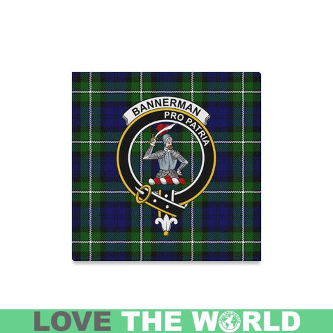 Tartan Canvas Print - Bannerman Clan | Over 300 Scottish Clans and 500 Tartans