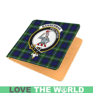 BANNERMAN CLAN TARTAN MEN WALLET A3