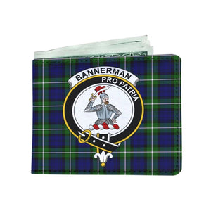 Bannerman Clan Tartan Men Wallet Y3 Wallets