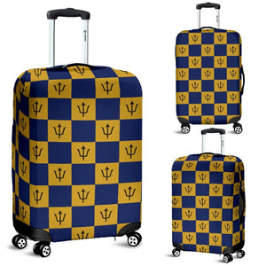 Barbados flag luggage cover - Barbados flag luggage cover K5 barbados flag, bajan flag, accessories, online shopping, barbados travel