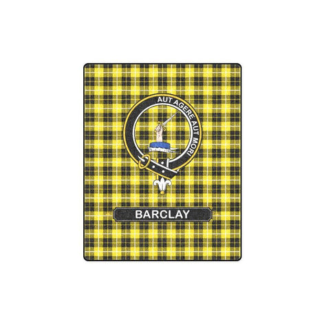 Image of Barclay Clan Tartan Blanket Dn1 One Size / 40X50 Blankets