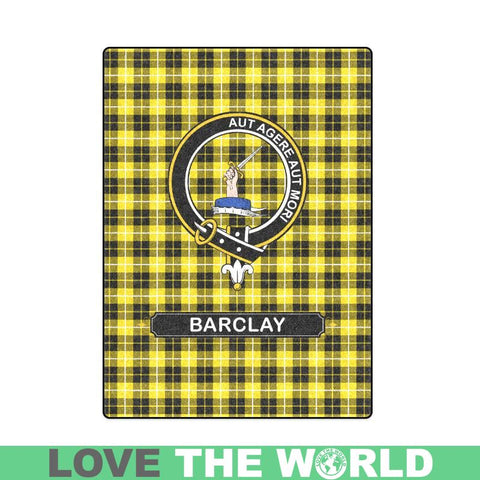 Image of Barclay Tartan Blanket | Clan Crest | Shop Home Decor
