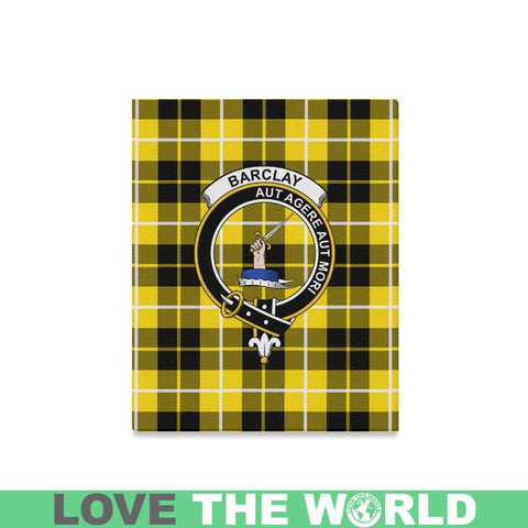Tartan Canvas Print - Barclay Clan | Over 300 Scottish Clans and 500 Tartans